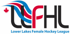Lower Lakes Female Hockey League Standings
